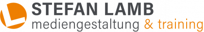 Logo Stefan Lamb mediengestaltung & training